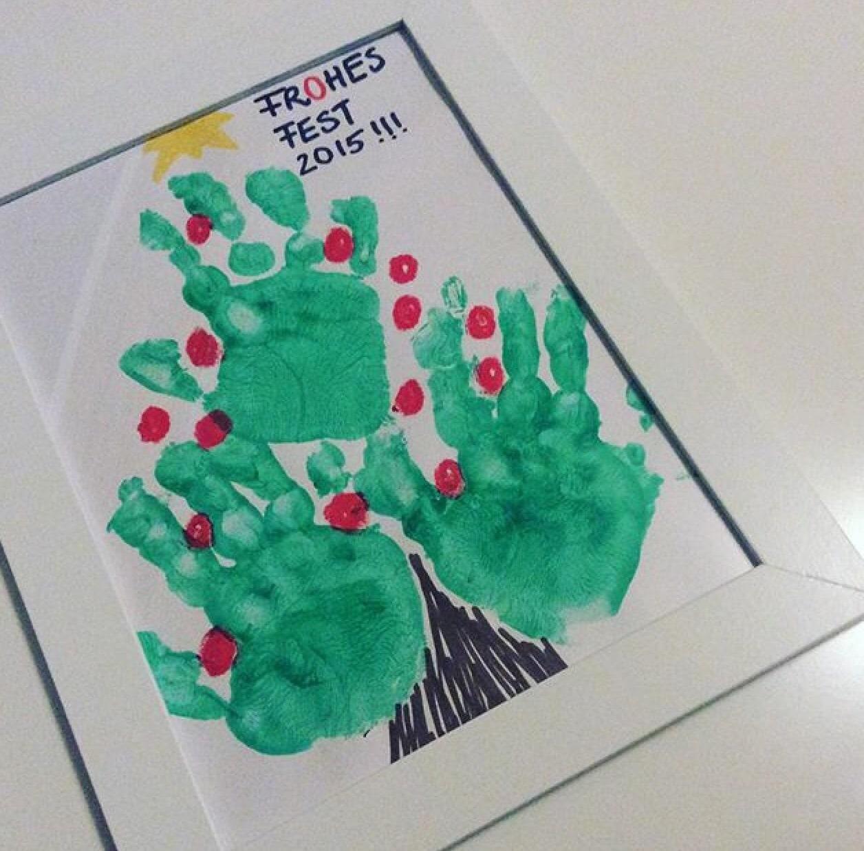 Handabdrucke Mit Kindern Im Handumdrehen