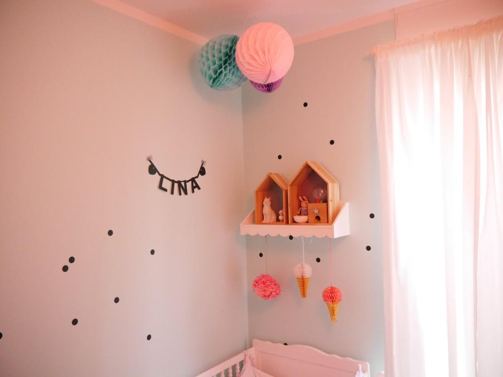 Punktgenau: Mit ein paar Tupfen an der Wand verändert sich gleich das ganze Raumgefühl.