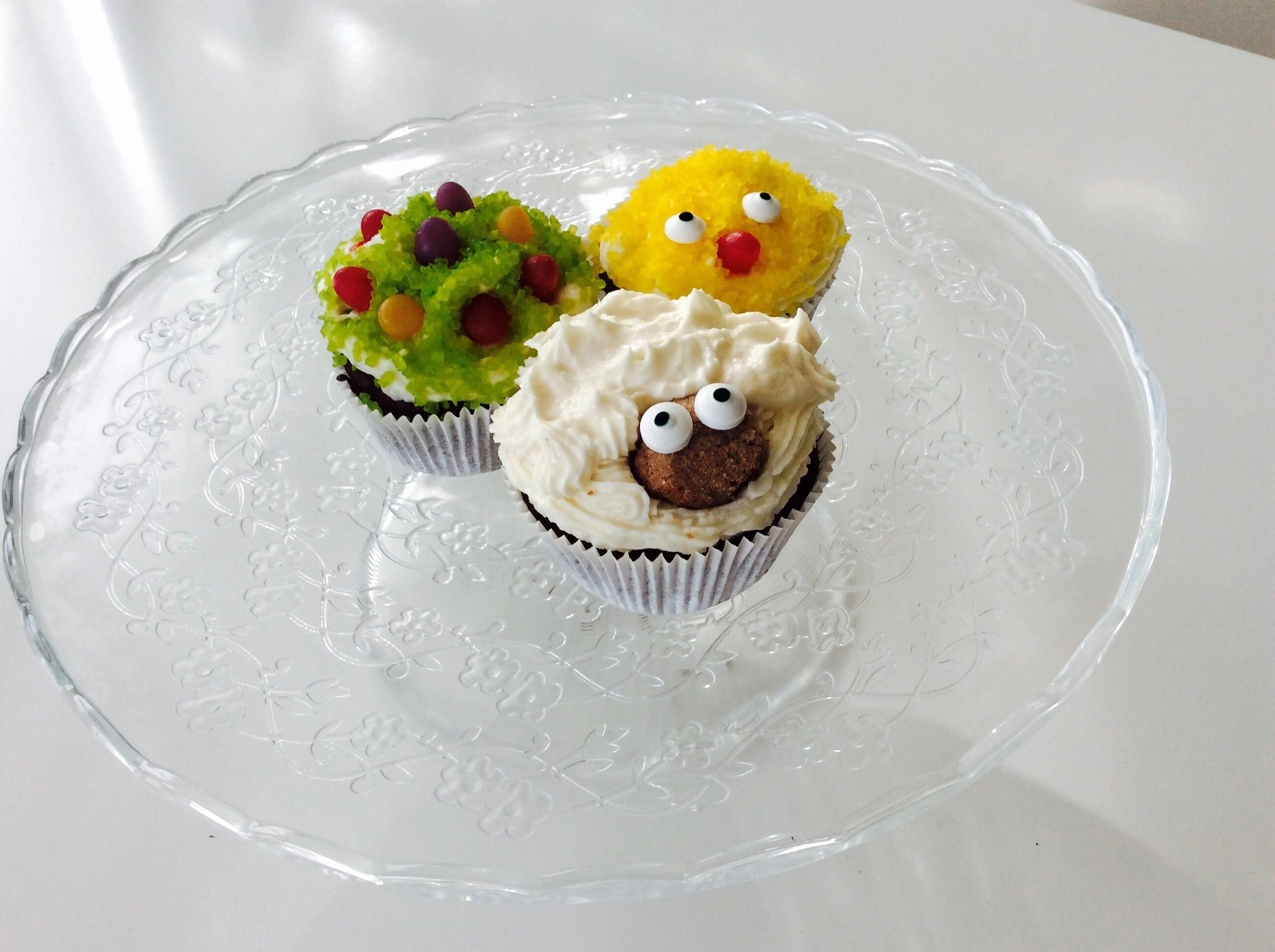 Frühlingshafte Oster-Muffins