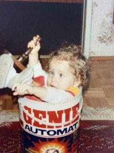 Vielleicht lag mein frühes Genie ja am damaligen Waschmittel...