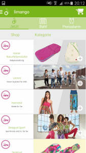 Limango App Aktuelle Angebote