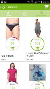 limango App Preisalarm