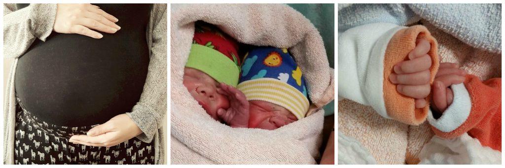 Die Frühchen-Zwillinge sind jetzt gesund und munter. Fotos: Doppelte Überraschung