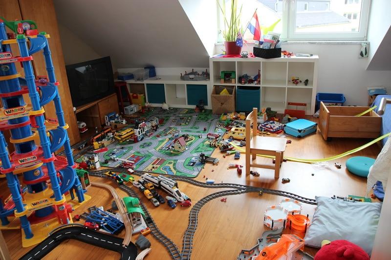 Der Spiele-Dachboden.
