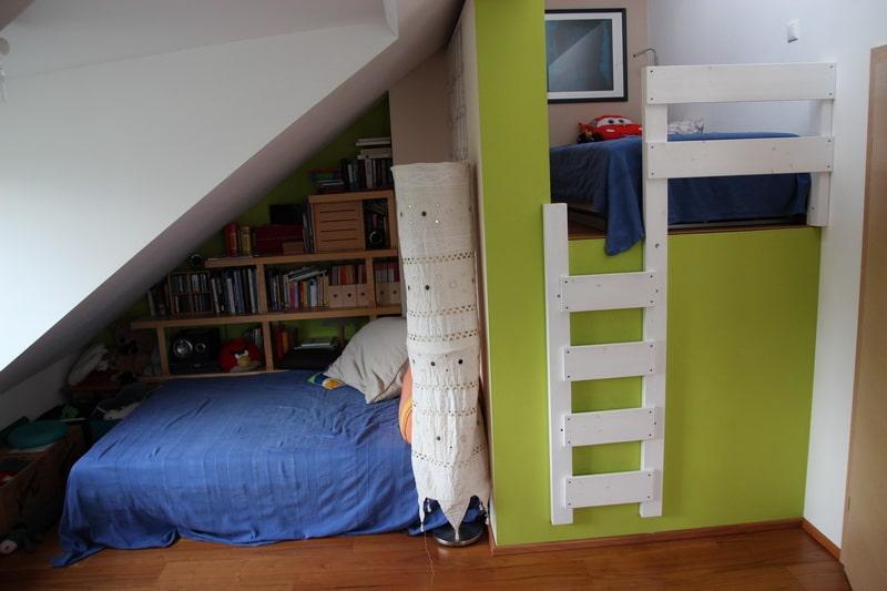 Die beiden Kinderzimmer sind klein, aber OHO!