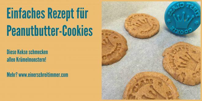 Rezept für Peanutbutter-Cookies