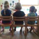 Zwillinge im Kindergarten trennen