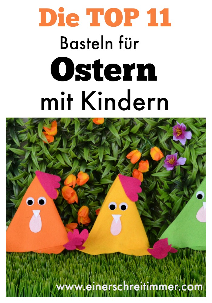 basteln f r ostern mit kindern. Black Bedroom Furniture Sets. Home Design Ideas
