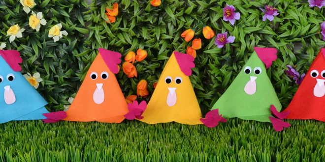 Basteln Für Ostern Mit Kindern Mamablog Einer Schreit