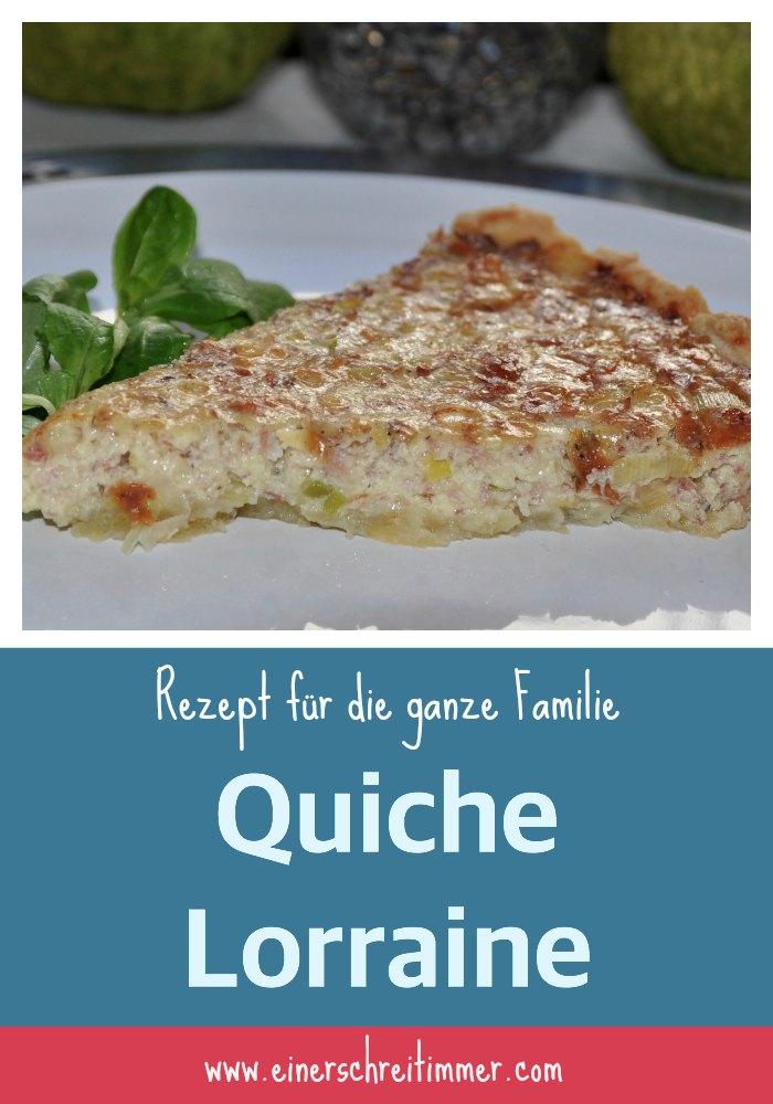 Rezept für die gesamte Familie: Quiche Lorraine