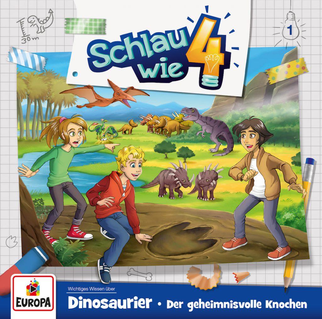 Wissens-Hörbuch mit Zwillingen: Schlau wie vier!