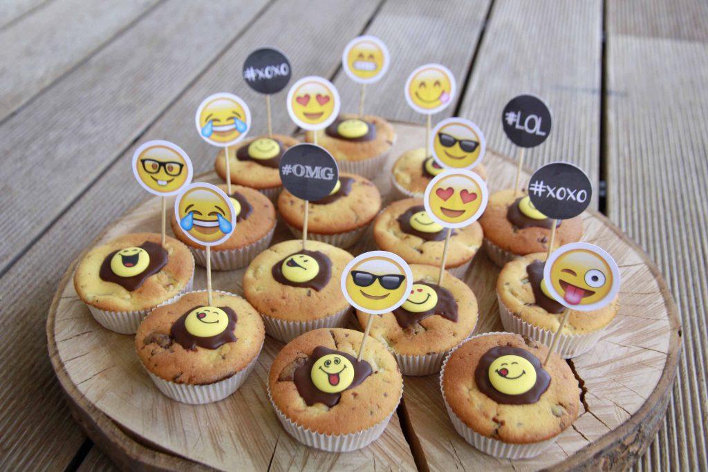 Alles für eine gelungene Emoji-Geburtstagsparty