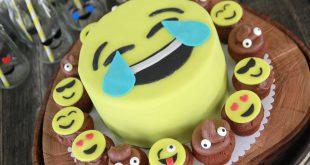Emoji-Geburtstagsparty