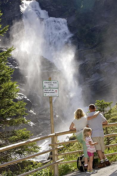 Die Top 11 Ausflugsziele in Zell am See/Kaprun mit Kindern: Krimmler Wasserfälle