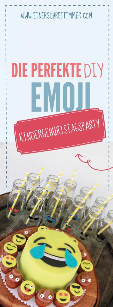 Emoji Mottoparty für einen perfekten Kindergeburtstag mit vielen DIY-Ideen und leckeren Rezepten