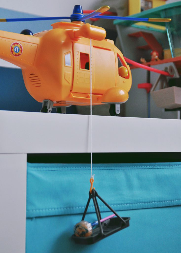 Feuerwehrmann Sam Bergrettung und Helicopter Wallaby II