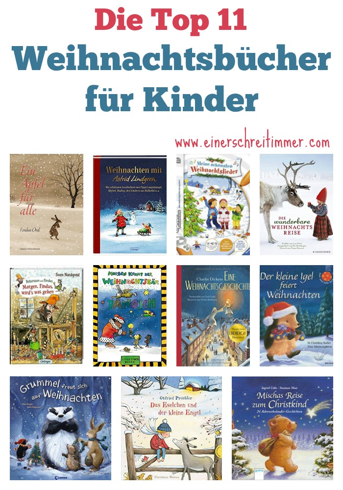 Die schönsten Weihnachtsbücher und Adventbücher für Kinder