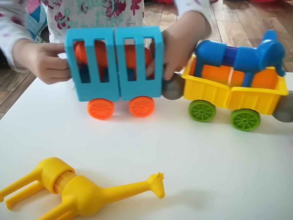 SmartMax - bunte Magnete mit großem Spielspaß: Animal Train