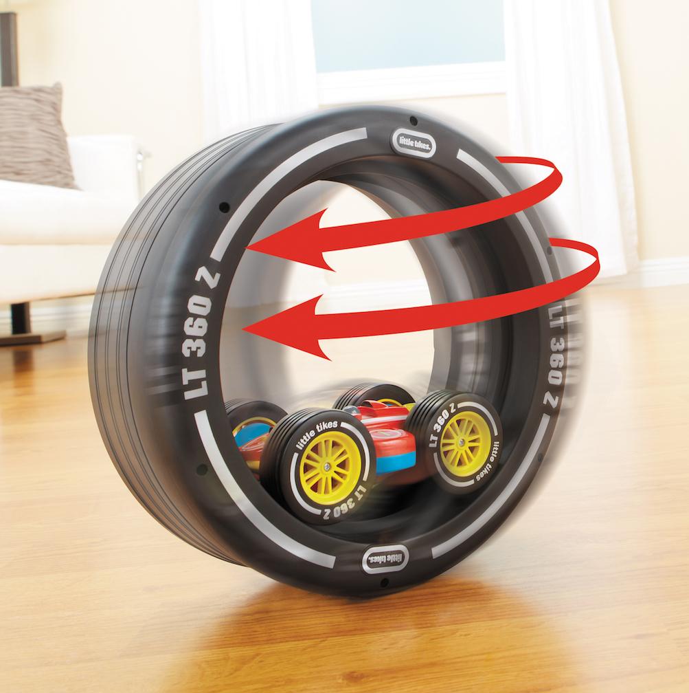 Tire Twister - das ferngesteuerte Auto mit dem Twist