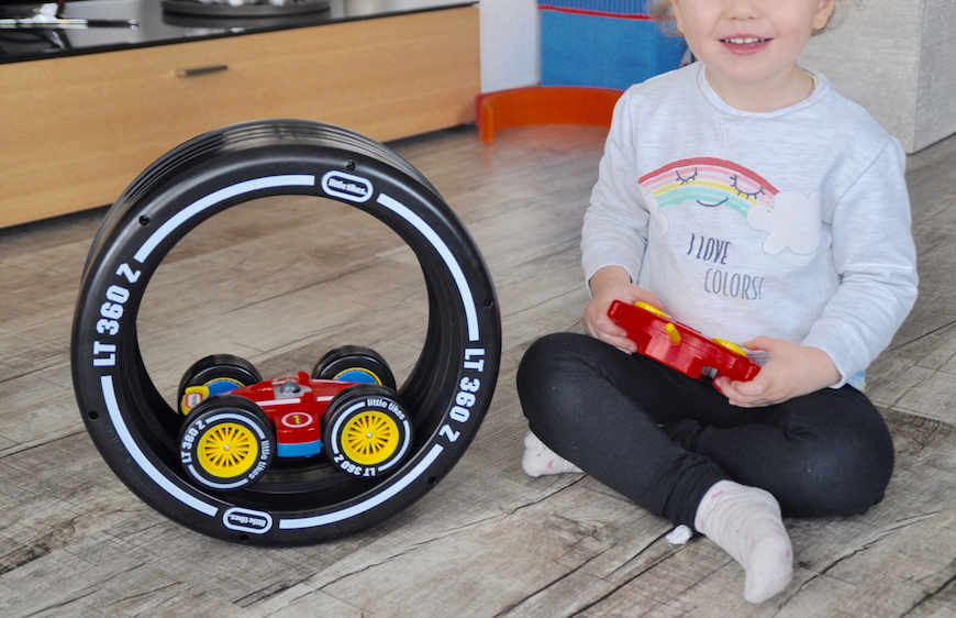 Tire Twister - Fahrspaß schon für die Kleinsten