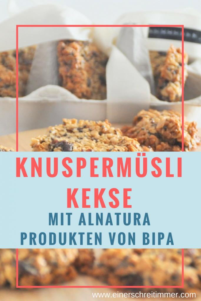 Rezept für Knuspermüsli Kekse von Alnatura & Bipa, Wie wir mit unserem Lieblingsmüsli Weihnachtskekse gezaubert haben