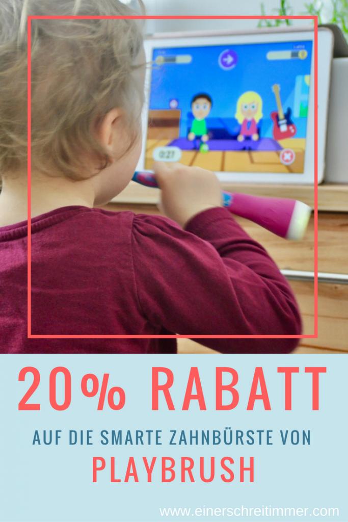 20% auf Playbrush - spielend einfach Zähneputzen statt großem Zahnputzdrama. Unsere Erfahrungen