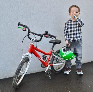 Der neue Woom Fahrradhelm für Kinder