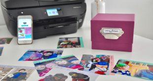 """#reinventmemories """"HP makes me hygge"""" Schöne Momente Box mit dem Fotodrucker Envy Photos von HP"""