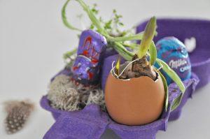 Schnelles Oster DIY mit Milka