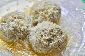 Bärlauch Quark Knödel - Rezept für die ganze Familie aus dem Dampfgarer