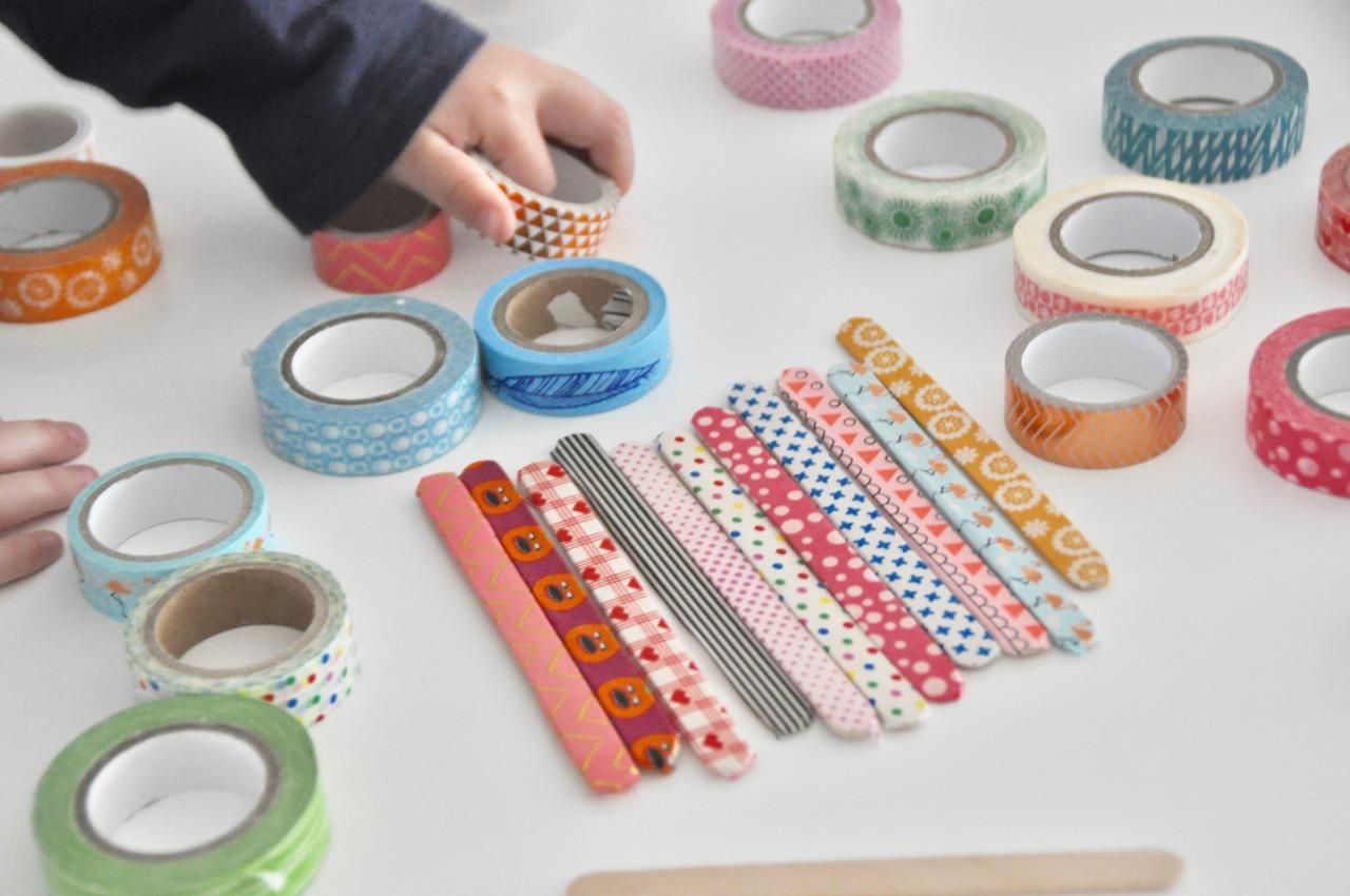 DIY zum Muttertag: Bilderrahmen aus Washi Tape