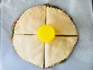 Rezept: Pesto-Blume zum Exit the Room Spieleabend