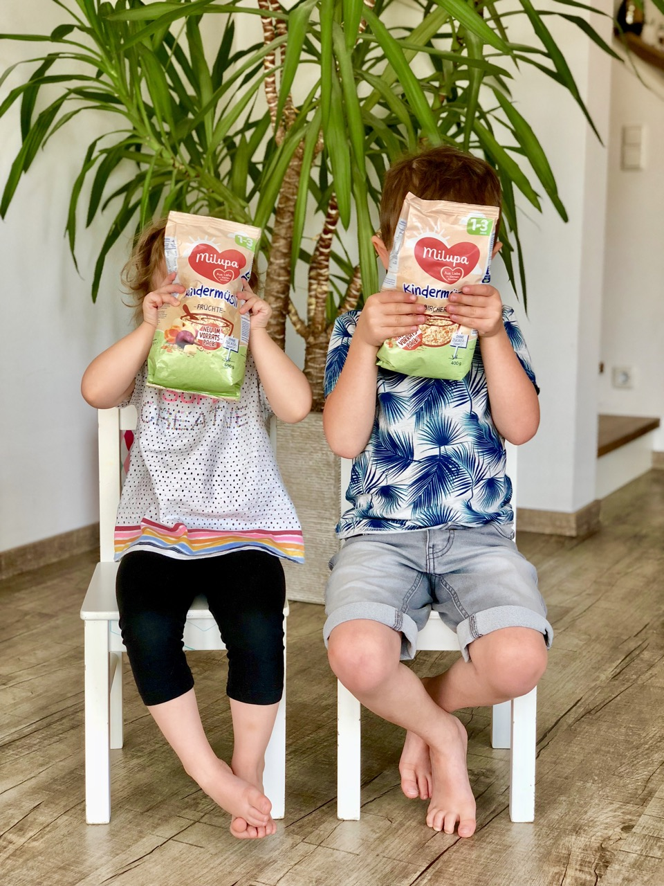 Gesund Frühstücken mit Kindern - Milupa Kindermüsli