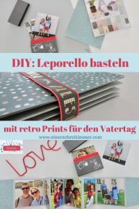DIY für Vatertag: Fotoalbum selber basteln