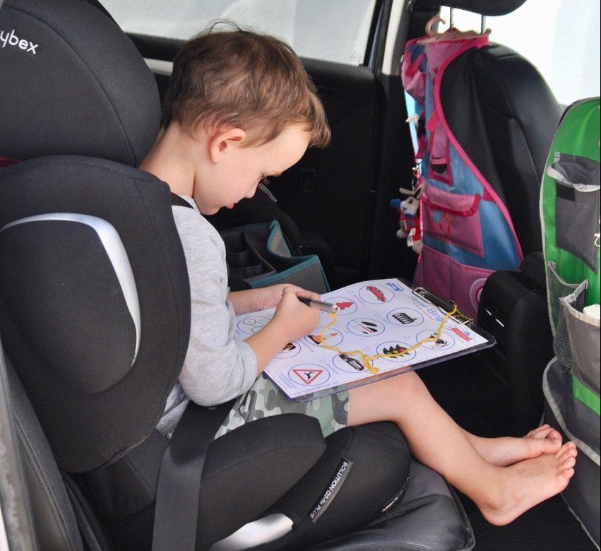 Auto-Reisebingo für lange Autofahrten - Free Download