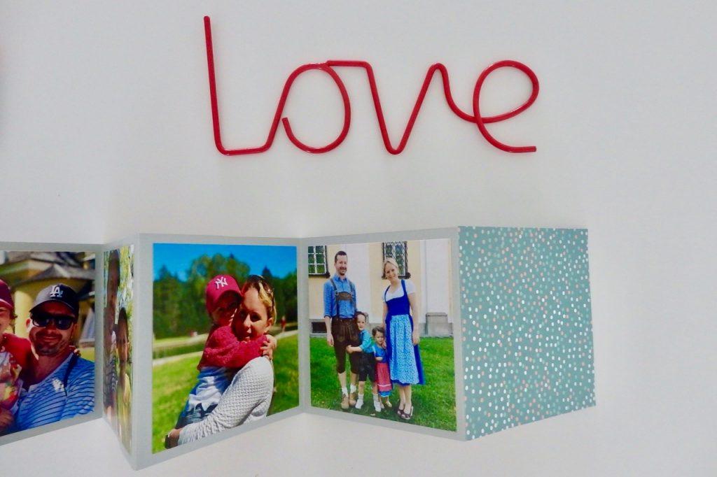 DIY Leporello Fotoalbum zum Vatertag