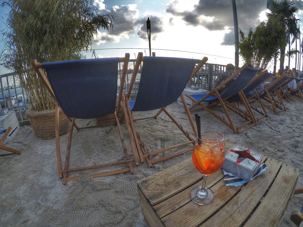 Hamburg mit Kindern: Beachclubs