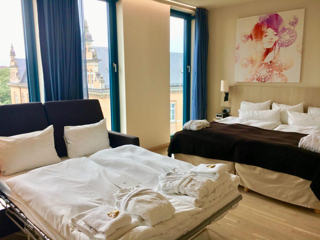 Hamburg mit Kindern: Hotel Scandic Emporio