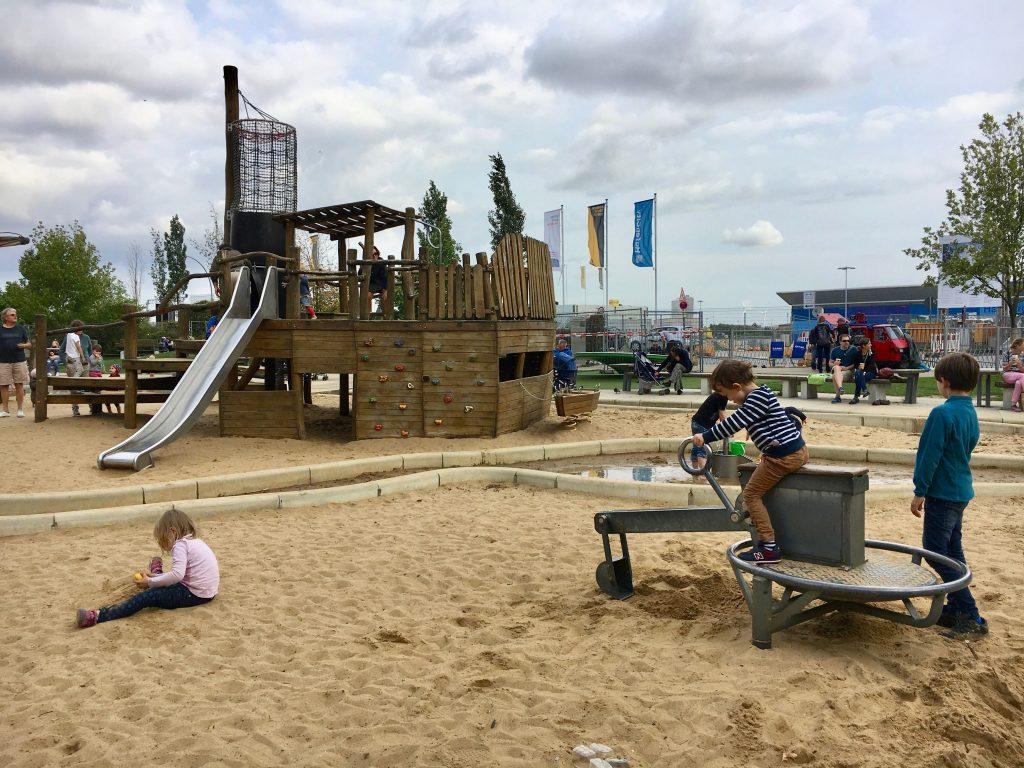 Hamburg mit Kindern: Spielplatz in HafenCity