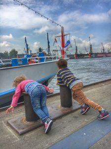 Hamburg mit Kindern: Landungsbrücken