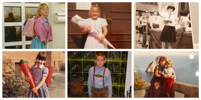 Erster Schultag - Blogger erinnern sich - wer ist wer
