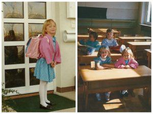 1. Schultag Lisbeth