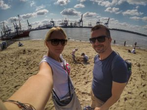 Hamburg mit Kindern: Elbstrand
