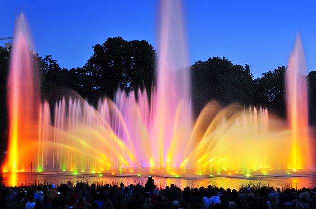 Hamburg mit Kindern: Wasserlichtkonzert