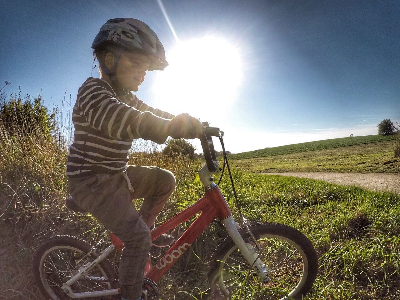 2 Jahre mit dem Woom Kinderfahrrad - Ein Erfahrungsbericht