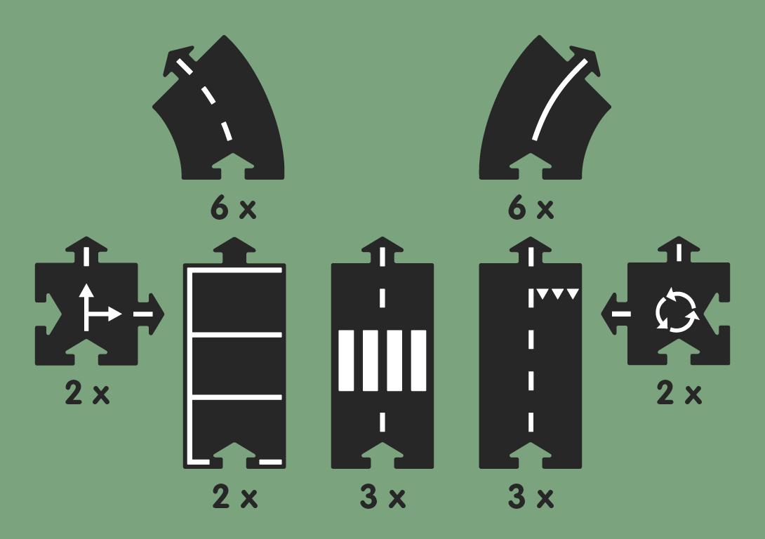 WayToPlay Flexible Autostraßen zum Spielen