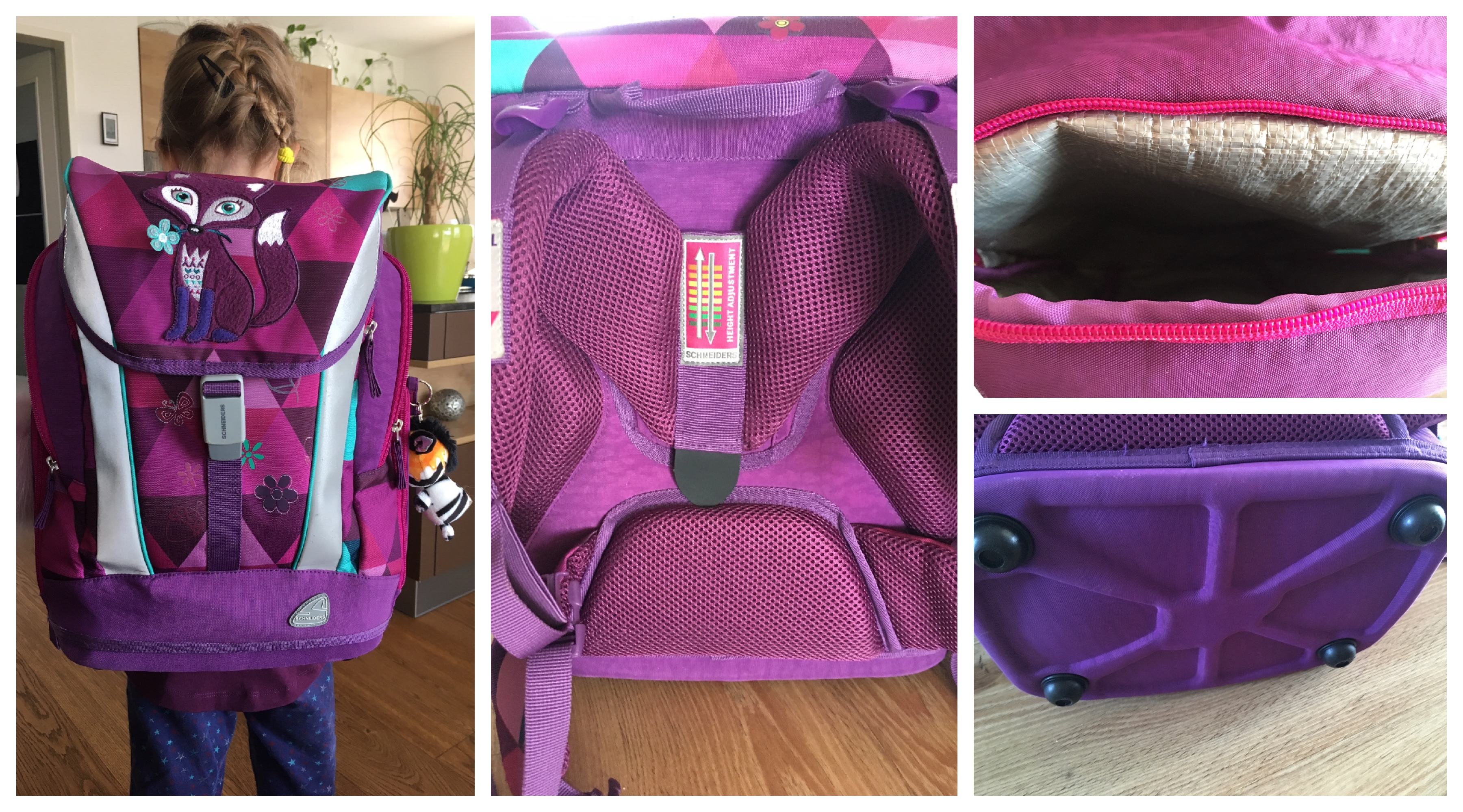 Schultaschenvergleich: Mütter von Schulkindern berichten ihre Erfahrungen mit ihrer Schultasche