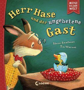Herr Hase und der ungebetene Gast Osterbuch Osternest Ostergeschichte Ostergeschenk Buchtipp Kinderbuch Ostern