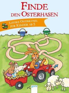 Osterrätselblock Osterbuch Osternest Ostergeschichte Ostergeschenk Buchtipp Kinderbuch Ostern