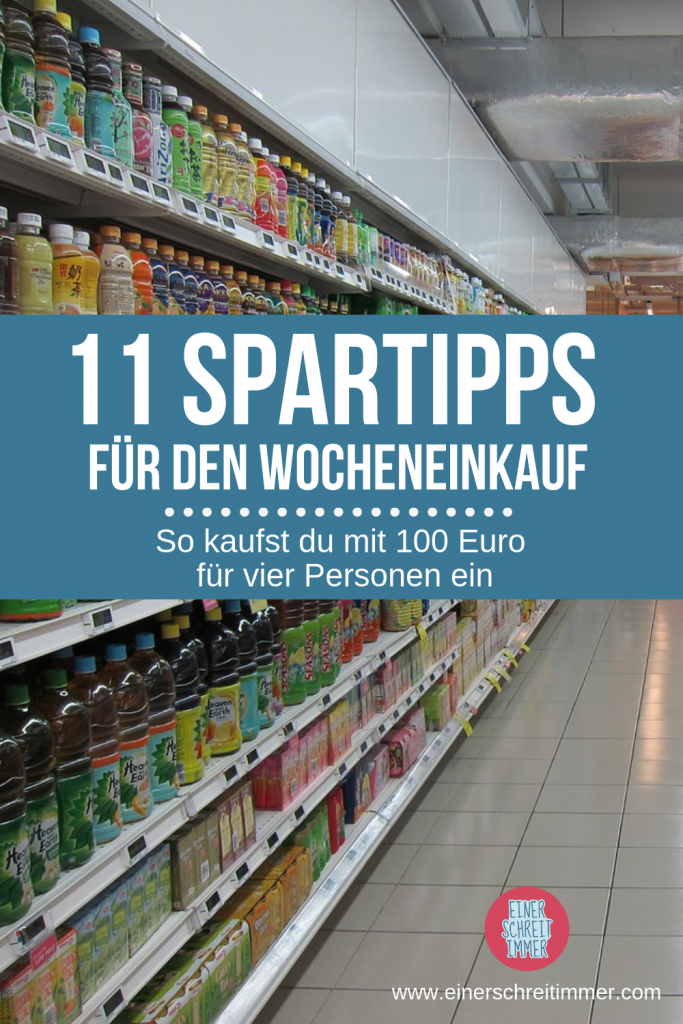 Top 11 Spartipps fürs Lebensmittel Einkaufen